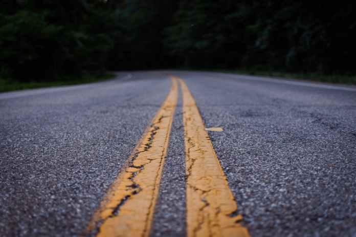 close up photo of gray concrete road