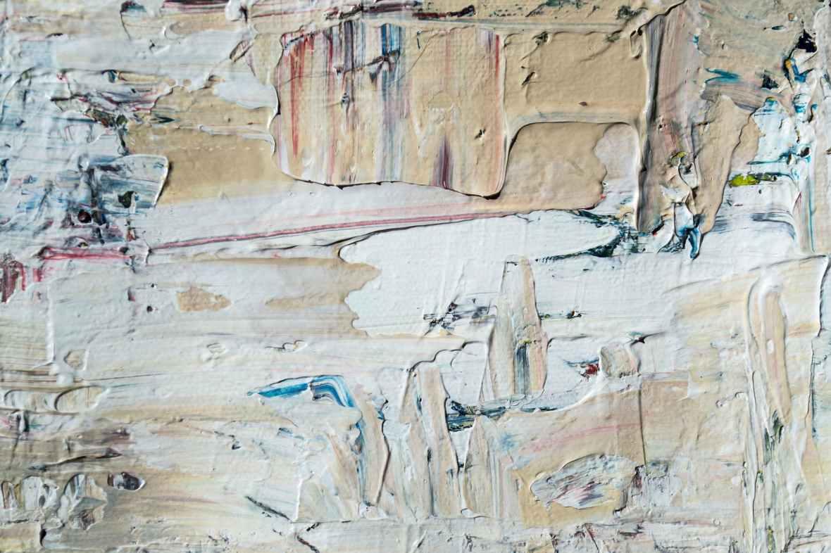 photo of paint splatter artwork